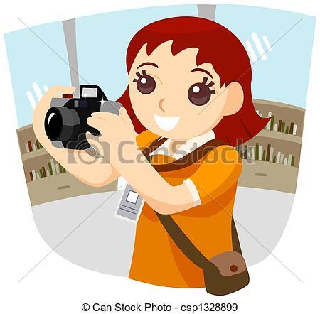 Girl Photographer.