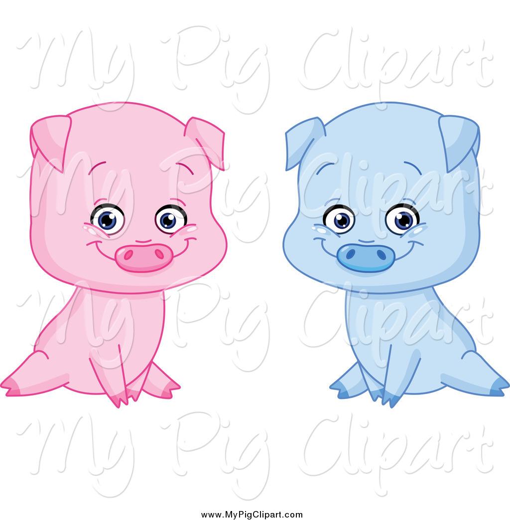 Boy Pig Clipart.