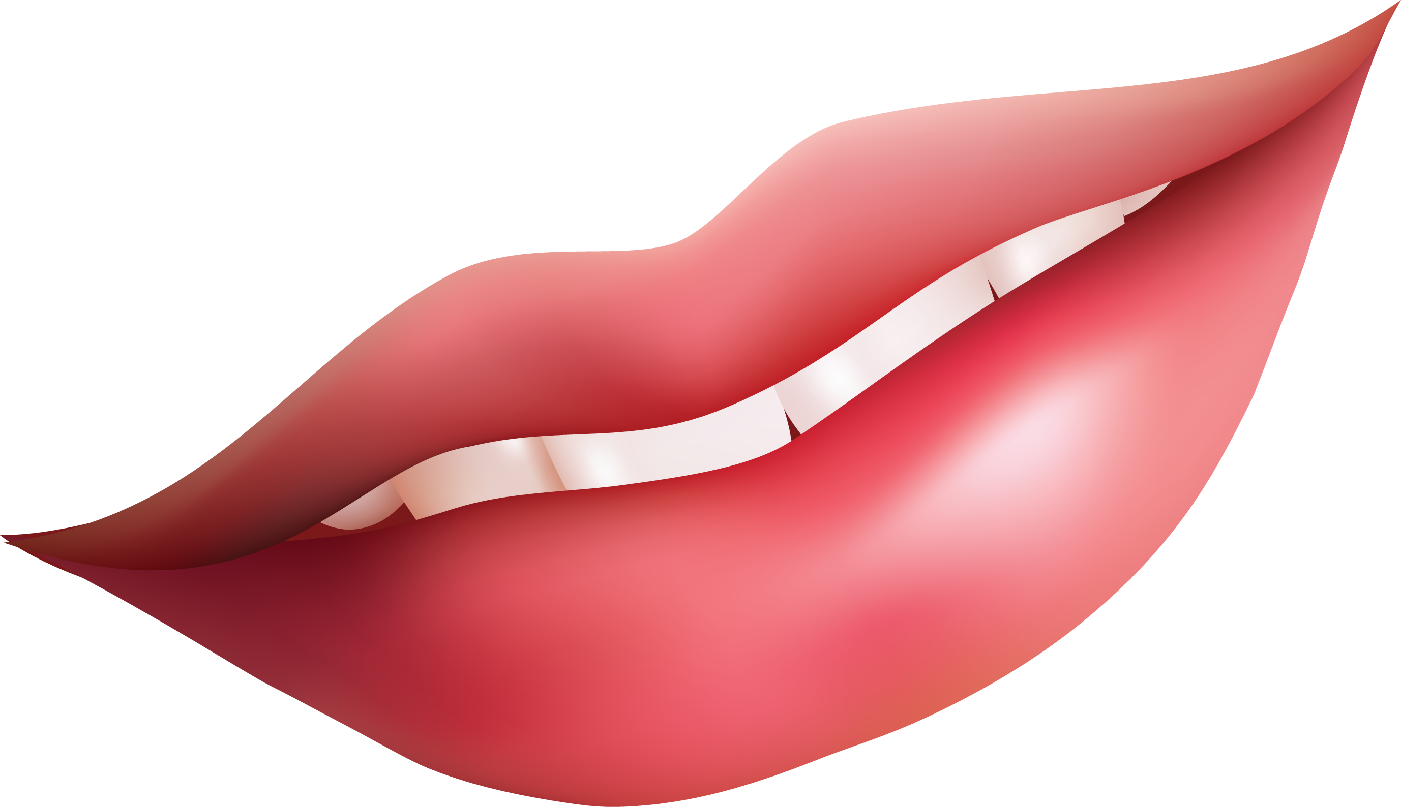 Girl Pink Lips Clipart Png.