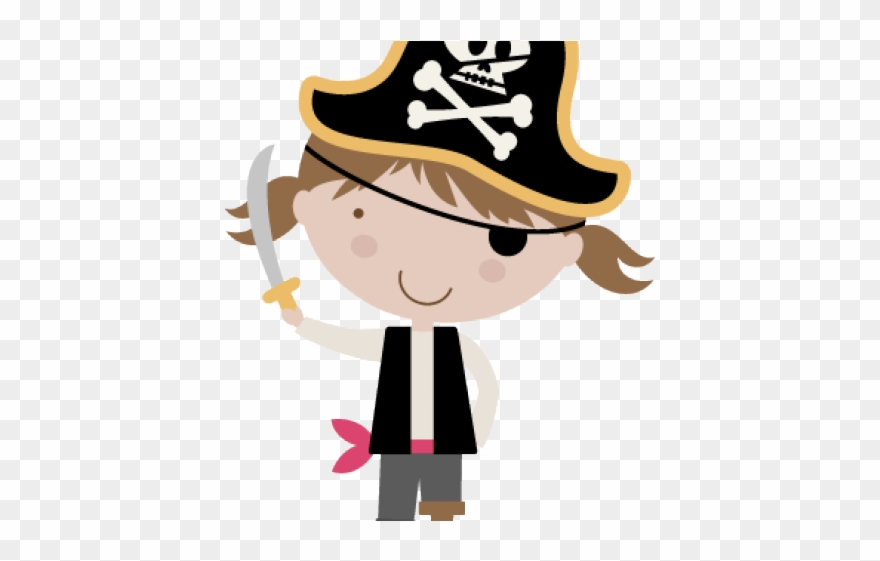 Pirate Clipart Family.