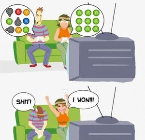 How Boys And Girls Play Video Games? by solsticehaze.