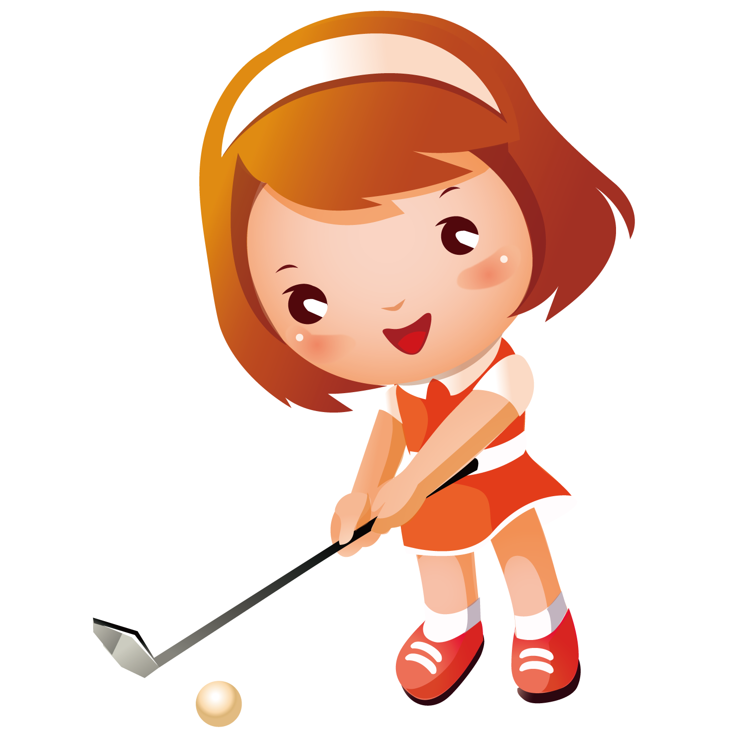 Girl playing baseball clipart clipart images gallery for free.