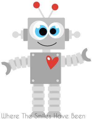69 best images about Robot Clip Art on Pinterest.