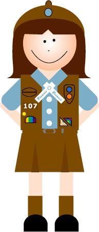 161 Best Girl Scout Clip Art.
