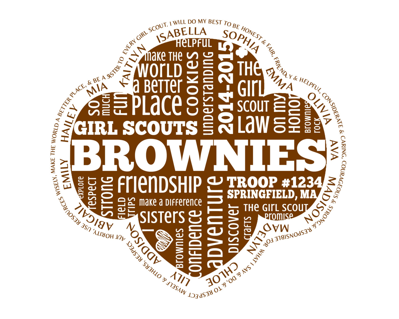Brownie scout Logos.