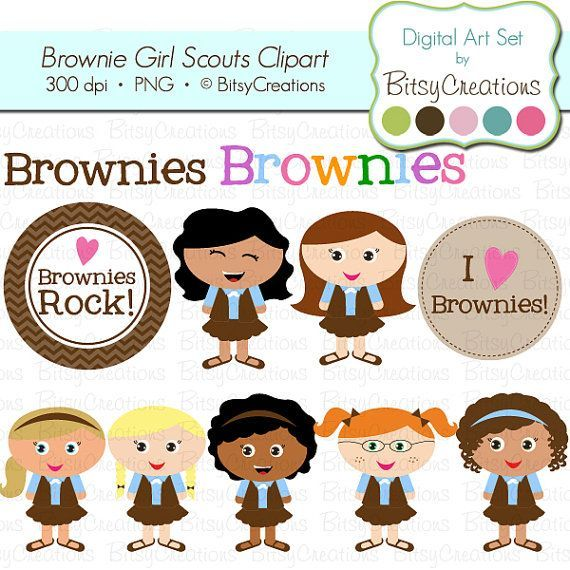 Girl scout brownies clipart 7 » Clipart Portal.
