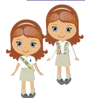 Girl Scouts of the Green and White mountains.