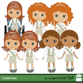 Girl Scouts Clip Art & Worksheets.