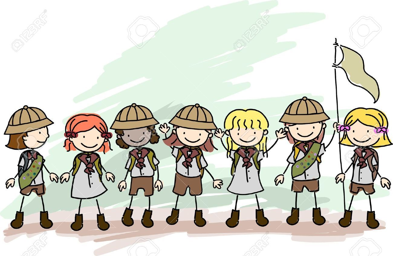 Girl scout camping clipart 3 » Clipart Portal.