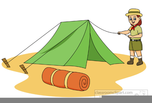 Girl Scout Camping Png & Free Girl Scout Camping.png.
