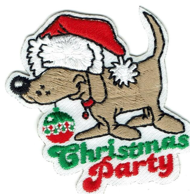 Girl Boy Cub CHRISTMAS PARTY Dog Fun Patches Crests Badges SCOUT GUIDE Day.