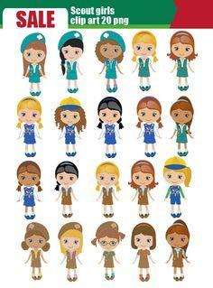 Girl Scout Clip Art Clipart.