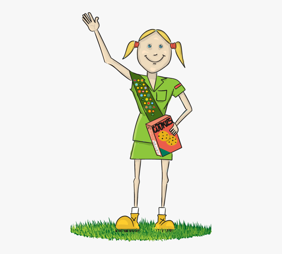 Boy Scout And Girl Scout Clipart.