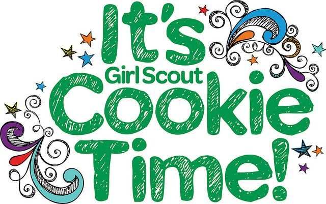 Girl Scout Cookie Booth Sale.