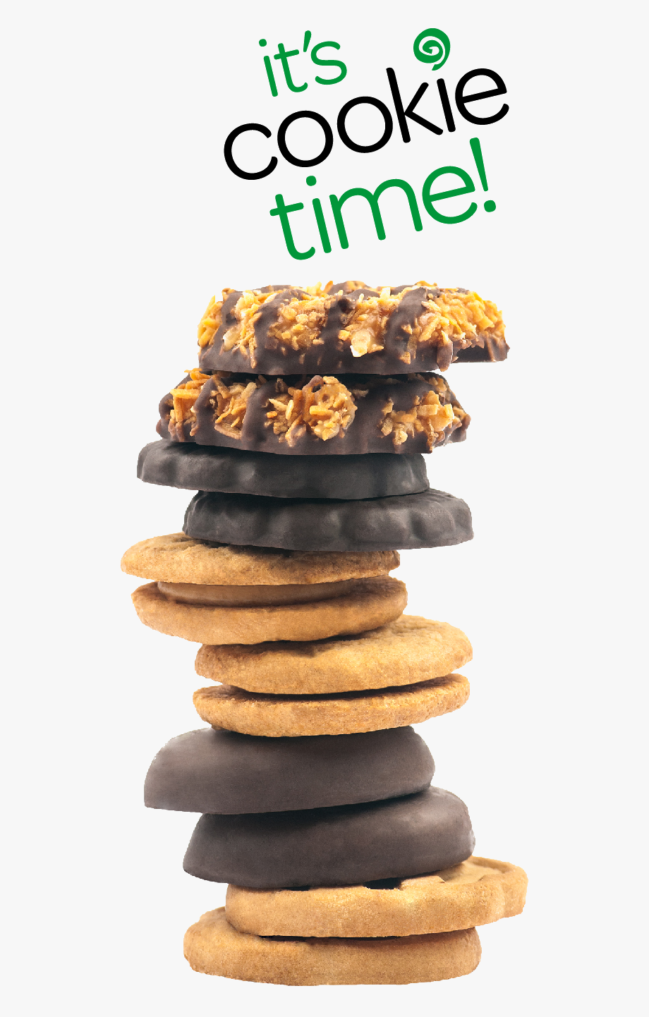 Girl Scout Cookies 2014 Clipart.