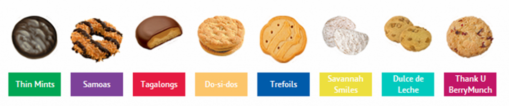 Girl Scouts Cookies Pictures Clipart.