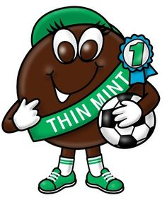 Girl scouts cookies clipart.