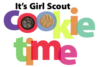 Girl Scout Cookies Free Clipart.