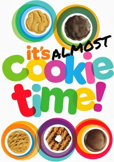 Girl Scout Cookie Sales Clipart.