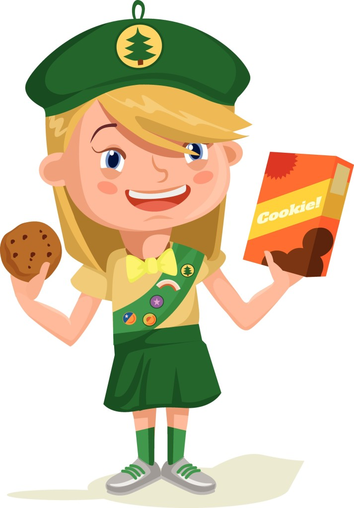 Girl scout cookies clipart 2 » Clipart Station.