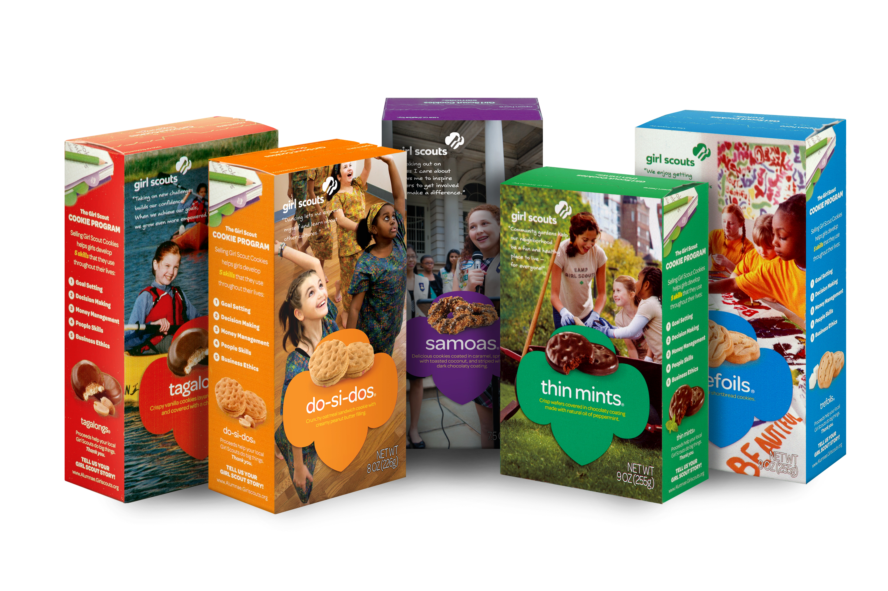 Girl Scout Cookies Lemonades Clipart.