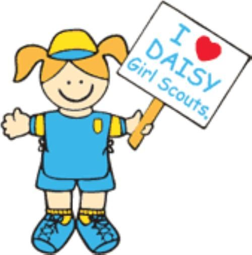 Daisy Girl Scouts Clipart.