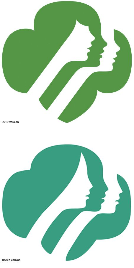 Girl Scout Logo Vector.