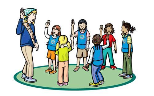 Girl scout promise clipart 3 » Clipart Portal.