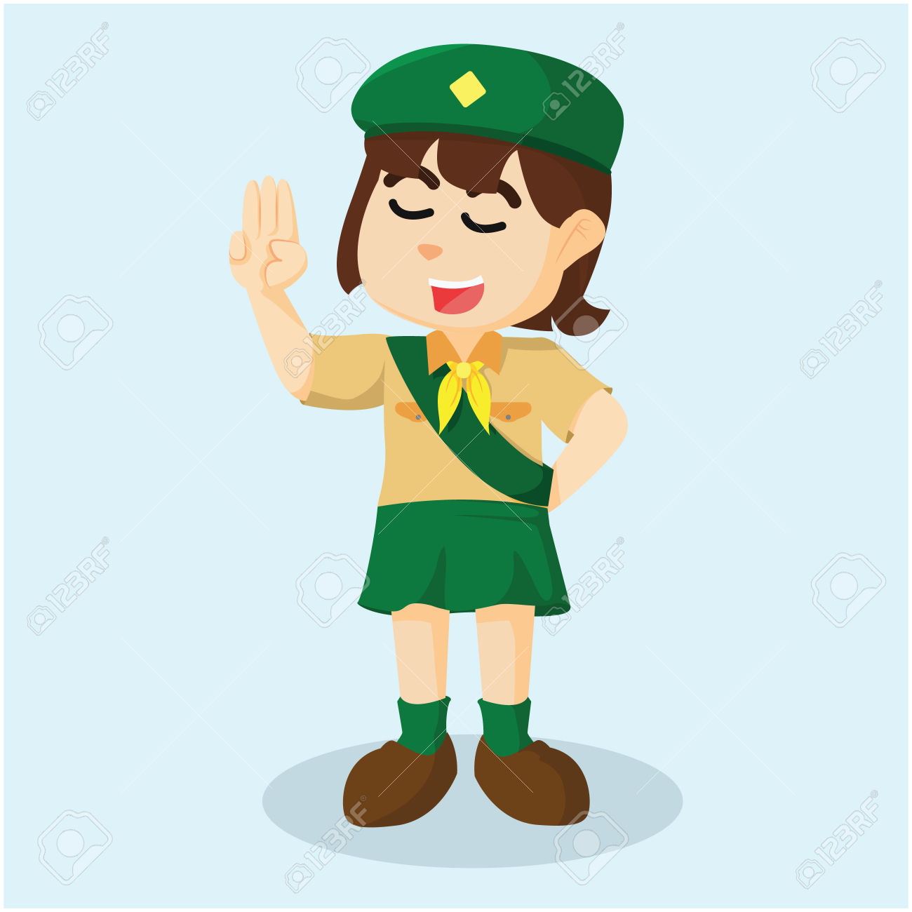 Showing post & media for Girl scout hand symbol.