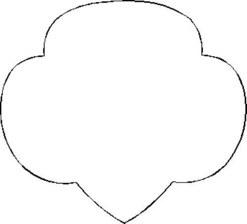 Showing post & media for Girl scout trefoil symbol.