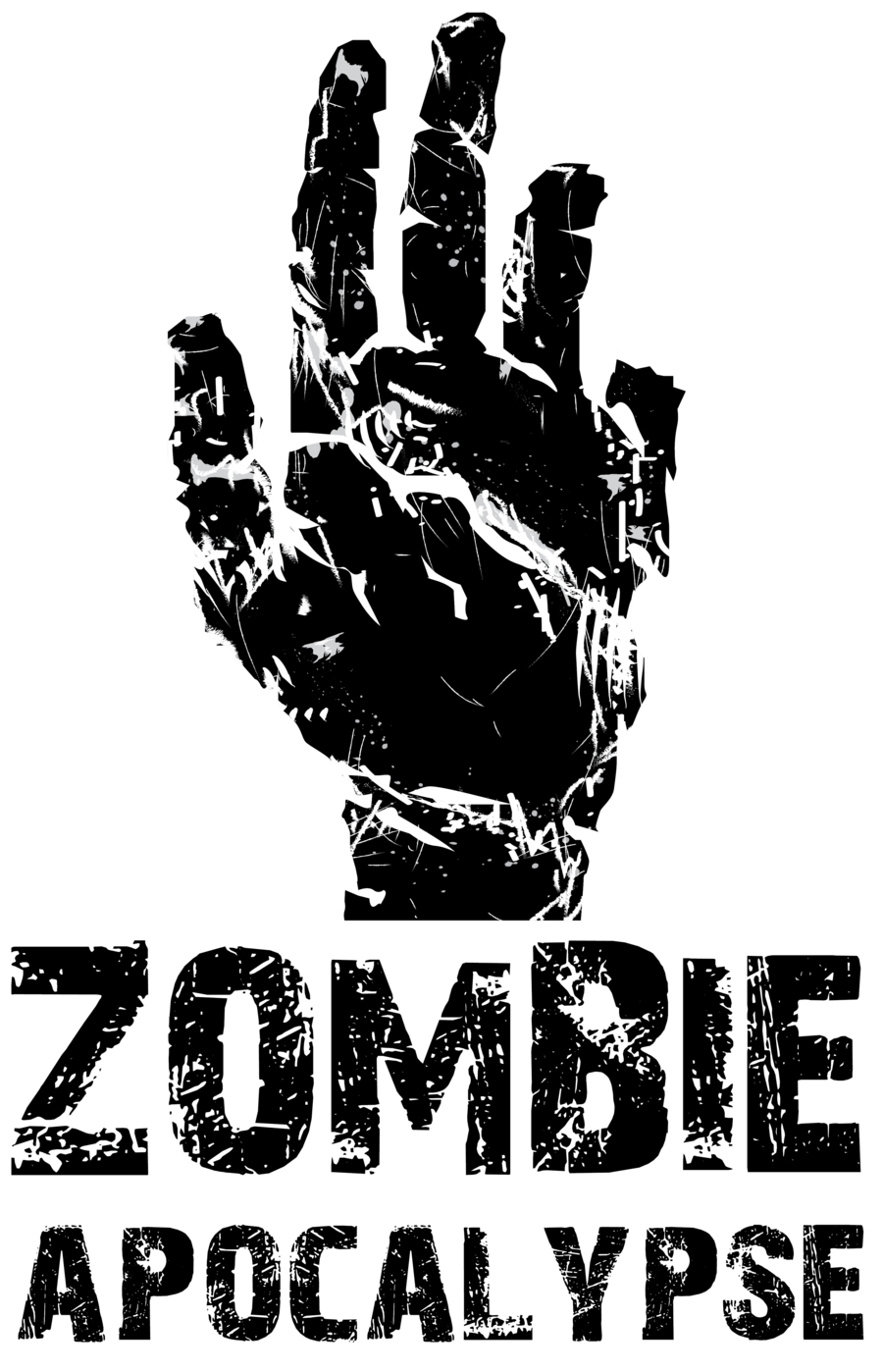 girl scout zombie clipart black and white - Clipground