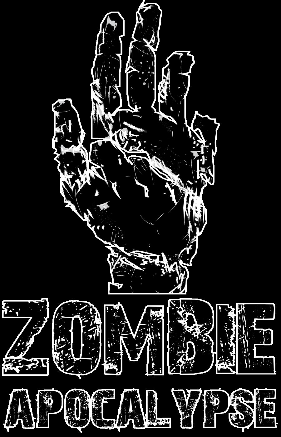 Zombie Apocalypse Clip Art.