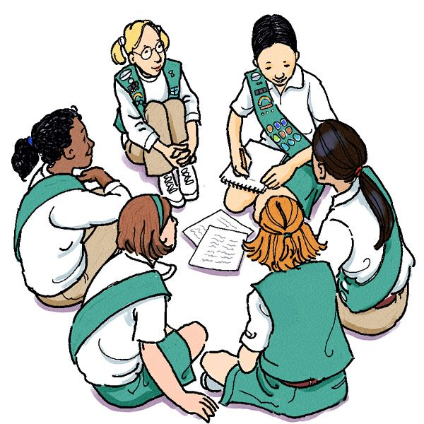 1000+ images about Girl Scout Clip Art.