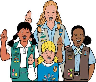 Free Girl Scout Clip Art Pictures.