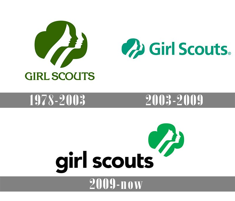 Meaning Girl Scout logo and symbol.