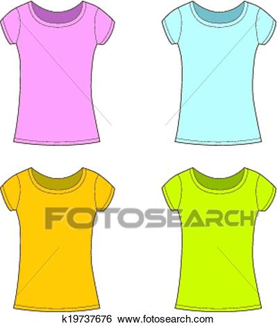 Girl t shirt clipart 2 » Clipart Station.