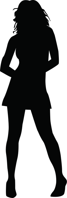 Girl Silhouette Png (101+ images in Collection) Page 1.