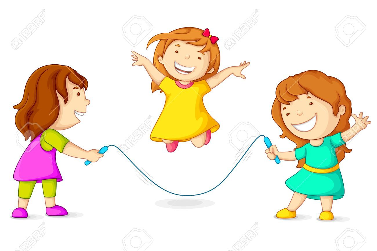 Girl skipping clipart 7 » Clipart Portal.