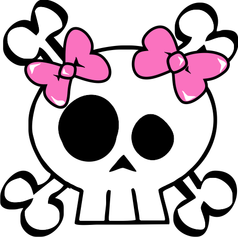 Free Girl Skull Cliparts, Download Free Clip Art, Free Clip Art on.