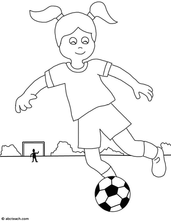Kid Playing Soccer Clip Art (60+).