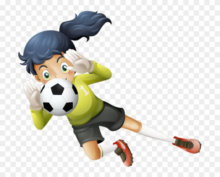 Cricket Clipart Playing Classroom Girl Soccer Goalie Clipart.