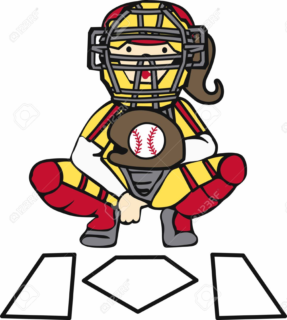 210 Girls Softball Stock Illustrations, Cliparts And Royalty Free.