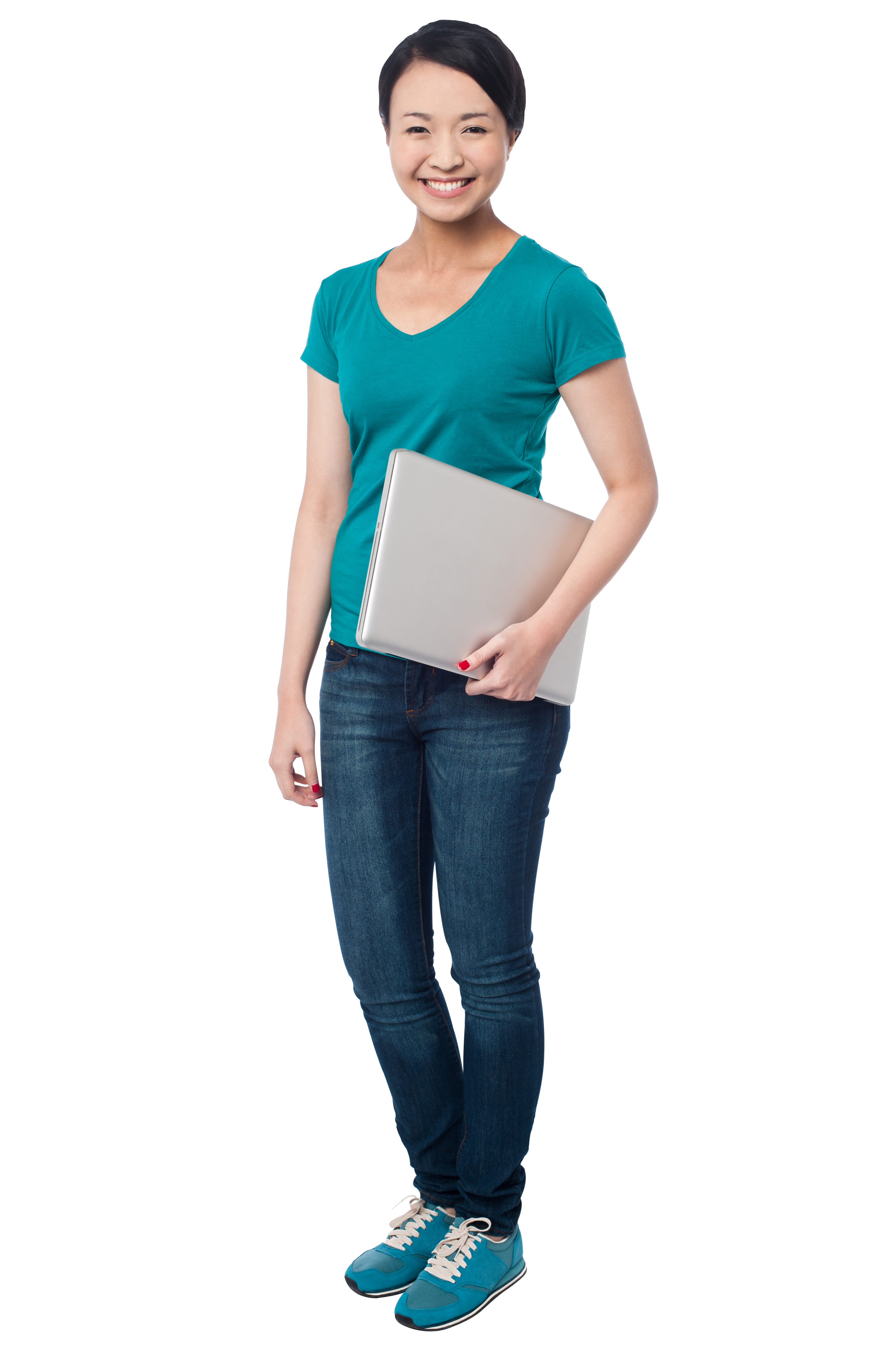 Standing Girl PNG Stock Images.