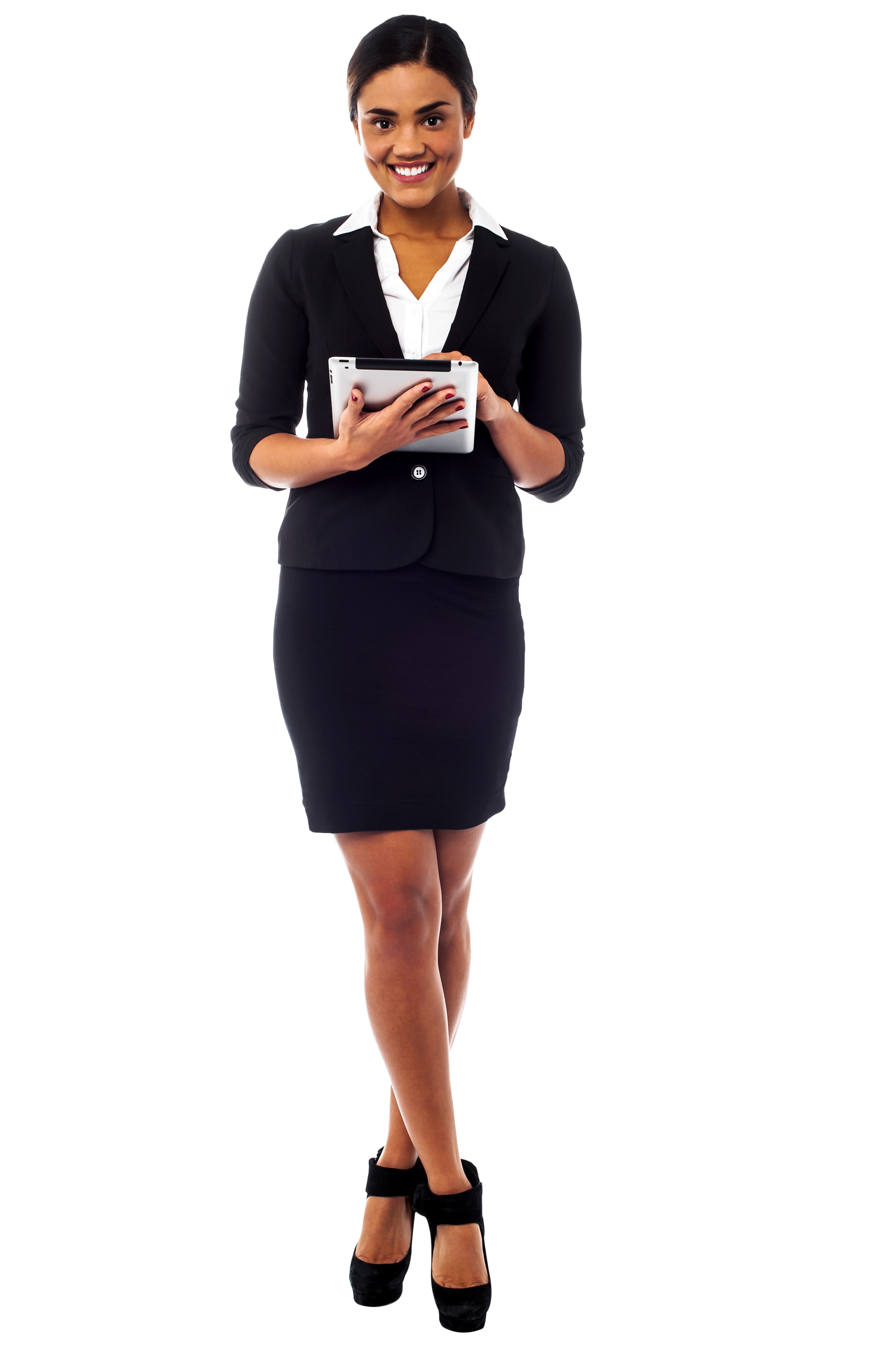 Standing Girl PNG Image.