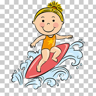 172 Surf Girl PNG cliparts for free download.
