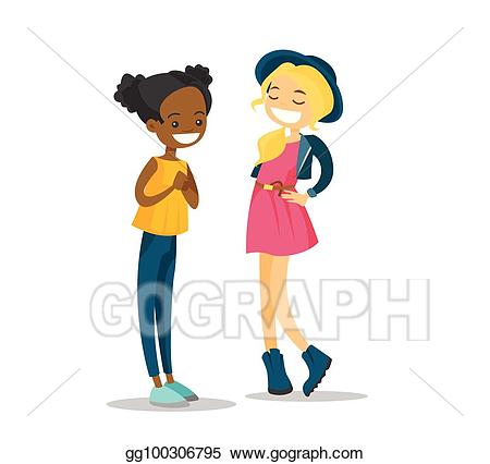 Girl talking clipart 4 » Clipart Station.