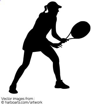 Download : Female Tennis Player.