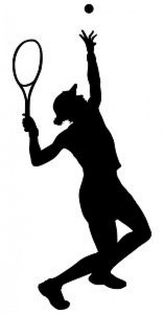Tennis Silhouette Vectors, Photos and PSD files.