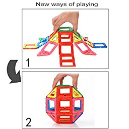 Kids Toy, EpochAir Cool Wooden Transformer Toy Changing to Many.