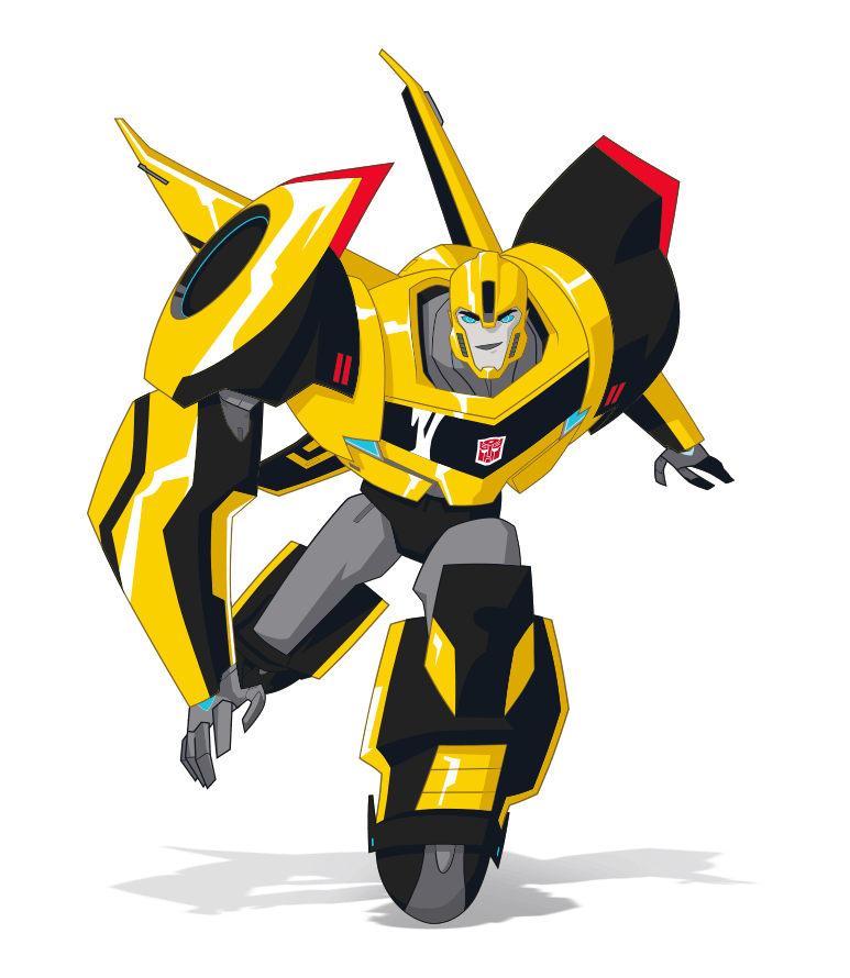 Transformers Animated Bumblebee. Favorite show and character.